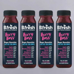 B.Fresh Berry Boss Smoothie - 4 x 250ml