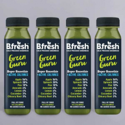 B.Fresh Green Guru Smoothie - 4 x 250ml