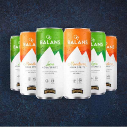 Only 60 Calories - Balans Alcoholic Spritz - 6x 250ml