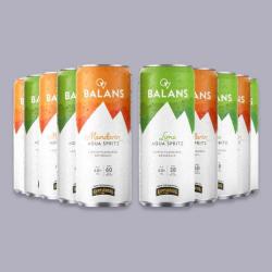 Balans Aqua Spritz - 10 x 250ml Cans for just £5.00