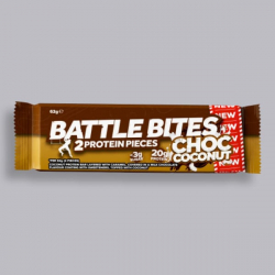 Battle Bites Protein Bar - Chocolate Coconut