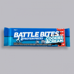 Battle Bites Protein Bar - Cookies n Cream