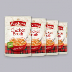 Baxters Chicken Broth 4 x 400g