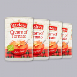 Baxters Cream of Tomato Soup 4 x 400g