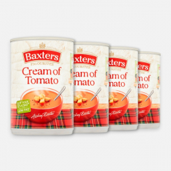 Baxters Cream of Tomato Soup 4 x 400g ****
