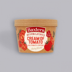 Baxters Super-licious Cream Of Tomato Soup with Tomato Chunks 350g