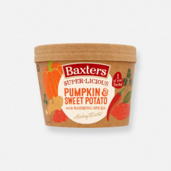 Baxters Super-licious Pumpkin & Sweet Potato Soup with Warming Spices 350g ****