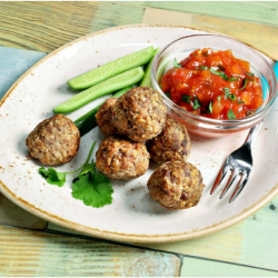 Ready-to-Eat Moroccan Meatball Snack Pot