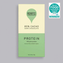 Benefit Dark Chocolate 85% Cacao - Protein 80g