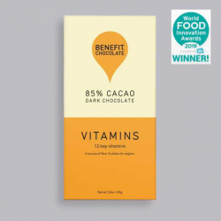 Benefit Dark Chocolate 85% Cacao - Vitamins 80g