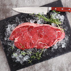 Free Range Big Daddy Beef Rump Steak - 1 x 908g