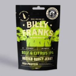 Billy Franks Beef & Citrus IPA Boozy Jerky 30g
