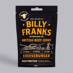 Billy Franks Cheeseburger Beef Jerky 30g