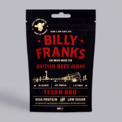 Billy Franks Texan BBQ Beef Jerky 30g