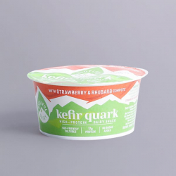 Biotiful Kefir Protein with Strawberry and Rhubarb compote 160g