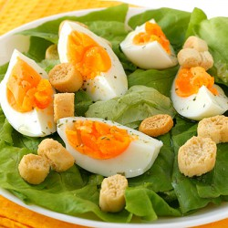 Fresh Boiled Ready Peeled Eggs - 48