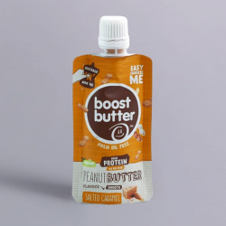Boostball Squeezy Salted Caramel Nut Butter - 45g