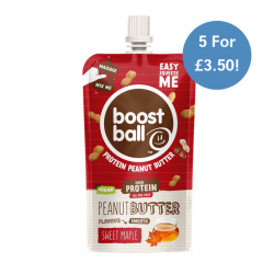 Boostball Sweet Maple Nut Butter. 5 For £3.50!