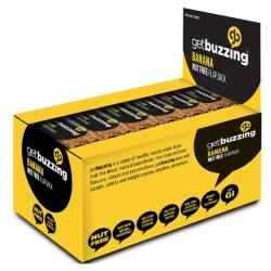 24 x Getbuzzing 100% Natural Flapjack Bars
