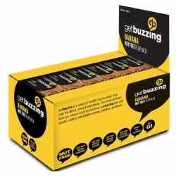 Get Buzzing Banana Flapjack Bars-24 x 62g