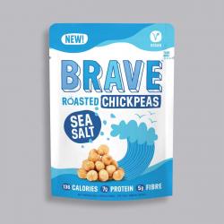 Roasted Chickpeas Sea Salt 35g