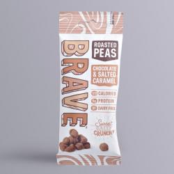 Roasted Peas Chocolate & Salted Caramel 30g