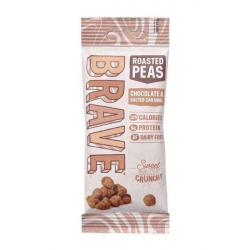 Roasted Pea Snack by Brave Chocolate & Salted Caramel