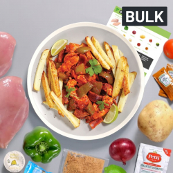 Bulk Piri Piri Chicken with Roasted Vegetables Recipe Kit