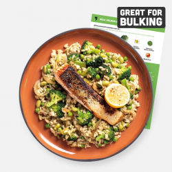 Bulking Salmon, Lemon & Pea Risotto Recipe Kit