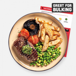 Bulking Steak, Chips & Herb Butter Recipe Kit