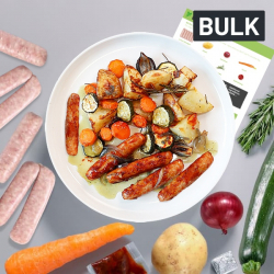 Bulk Sticky Chilli Sausage & Veg Bake Recipe Kit