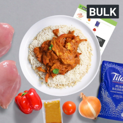 Bulk Chicken Tikka Masala with Rice Recipe Kit