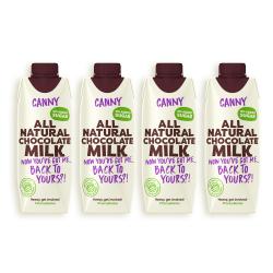 Canny Chocolate Milk - 4 x 330ml Exp Date 19.5.19