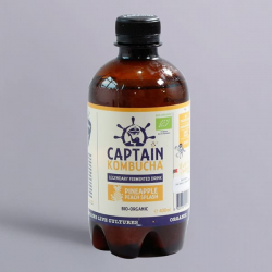 Captain Kombucha Bio-Organic 400ml-Pineapple Peach