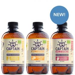Captain Kombucha Bio-Organic Drink 400ml