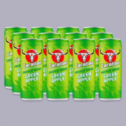 Carabao Green Apple Energy Drinks 12 x 330ml