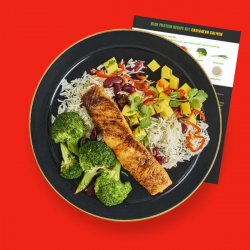 Levi Roots Caribbean Salmon Recipe Kit