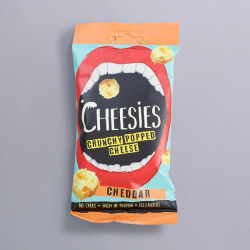 'Cheddar' Cheese Popped snack 20g – Cheesies