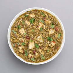 Chicken with Spinach and Rice - 41g Protein