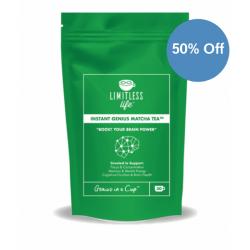 90g Instant Genius Matcha Tea - Half Price