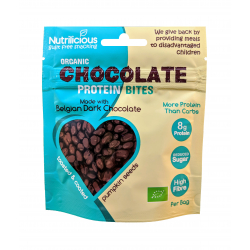 Nutrilicious Organic Dark Chocolate Protein Bites