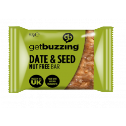 Get Buzzing Date & Seed Flapjack Bites 30g