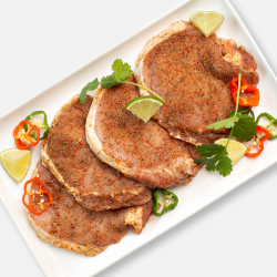 Chilli & Lime Pork Loin Steaks - 4 x 100g