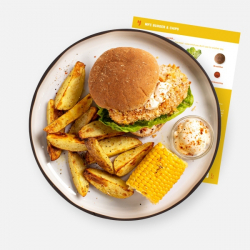 MFC Burger and Chips Recipe Kit