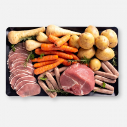 Gammon One Pan Meat Hamper