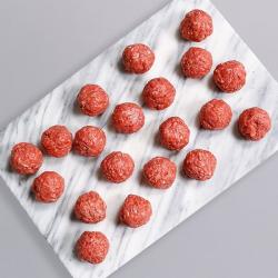 Extra Lean Free Range Beef Meatballs - 20 x 17g