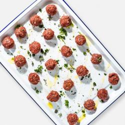 Free Range Beef Meatballs - 20 x 17g
