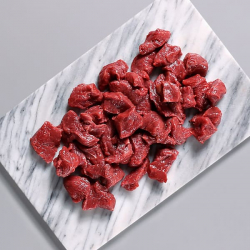 Extra Lean Free Range Diced Beef - 400g