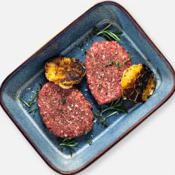 Free Range Hache Steaks - 2 x 170g