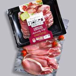 Finnebrogue Naked Smoked Back Bacon - 200g